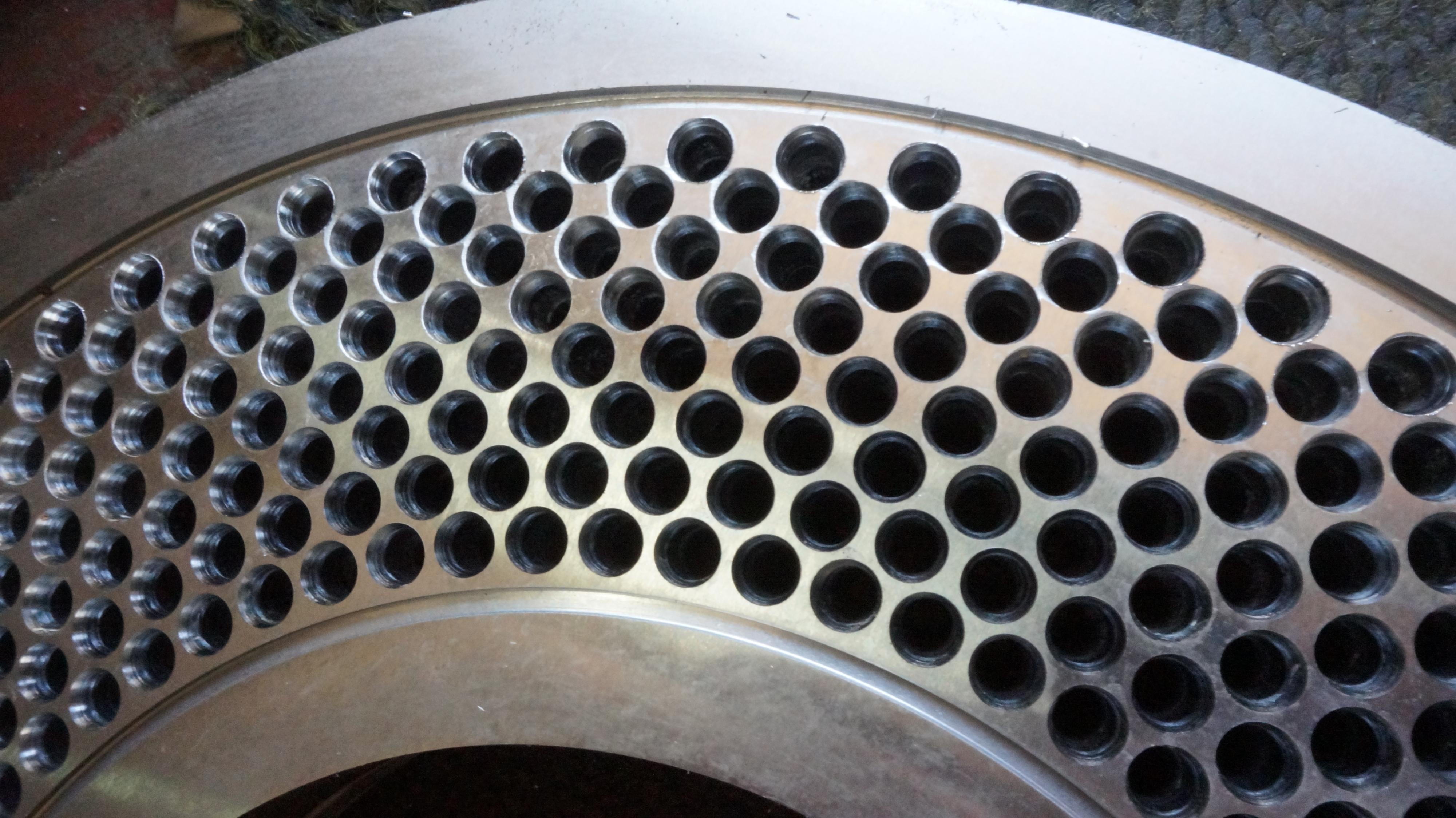 рециклирана матрица за пелети